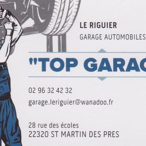 """Saint-Marin-Des-Prés: : """"Top Garage Le Riguier"""""""