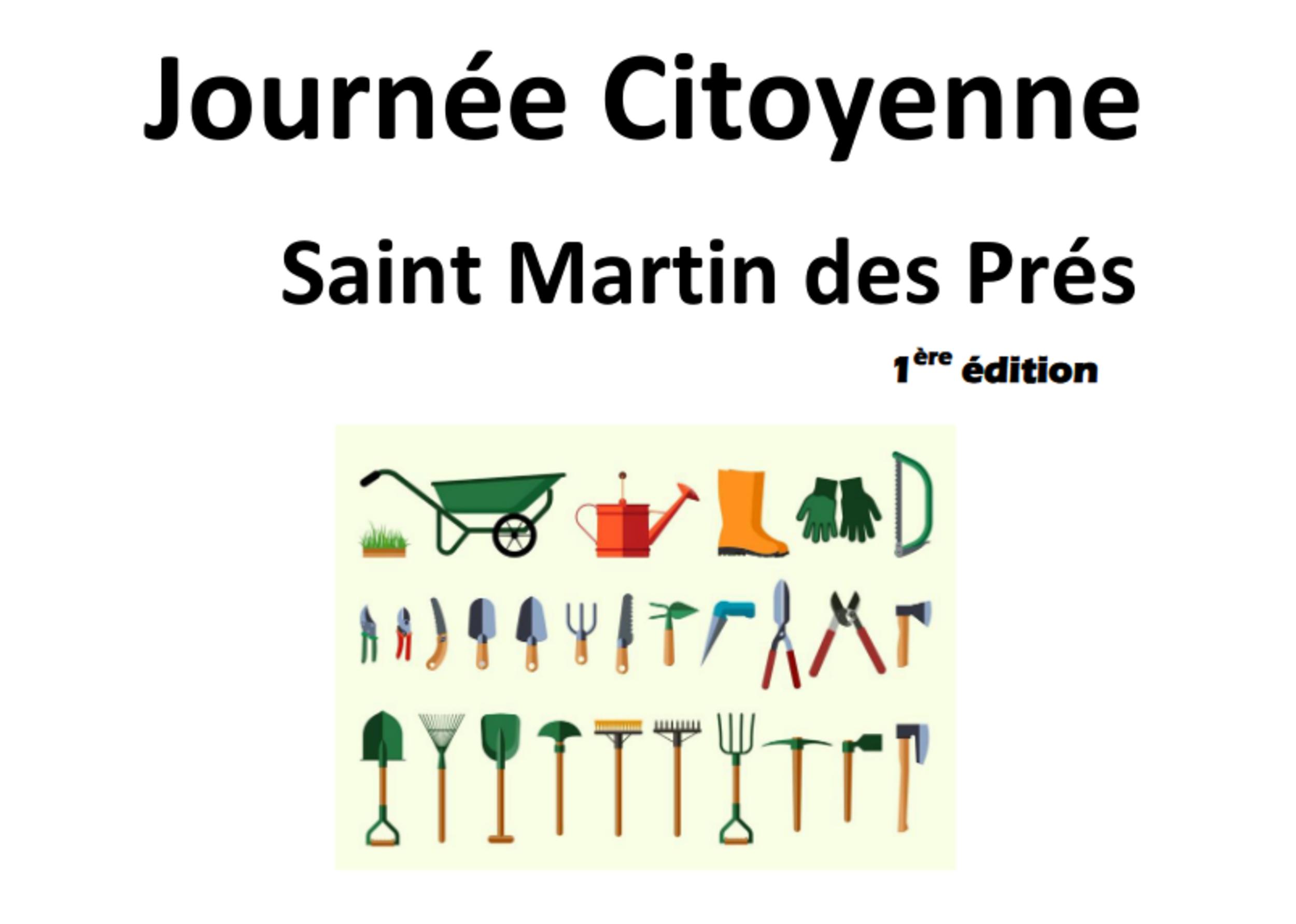 Saint Martin des PrésJournée citoyenne du 17/10/2020
