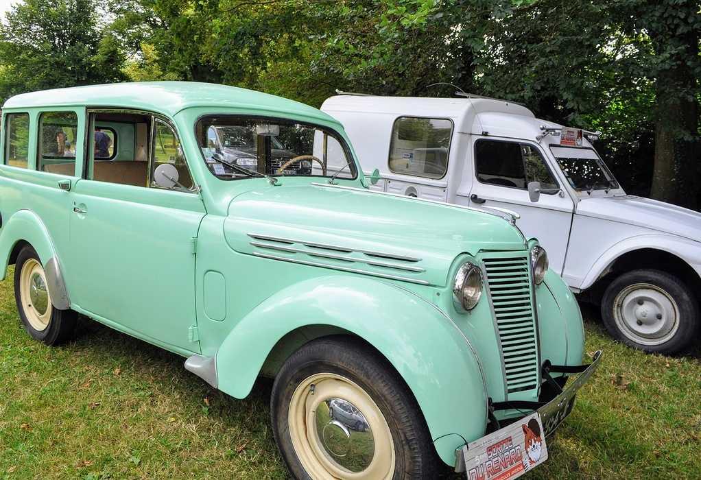 1 août 2020 : passage de véhicules anciens - Saint Martin des Prés 0