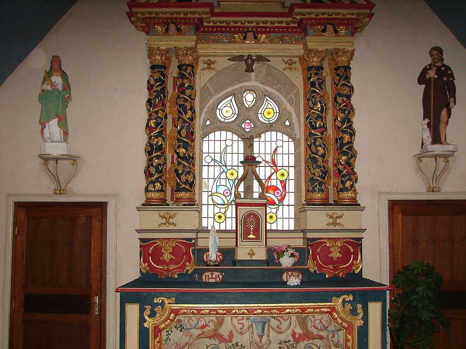 Chapelle Saint Roch - St Martin des Prés dsc05661
