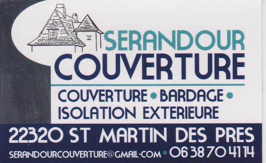 St Martin des Prés : Couverture Sérandour 0