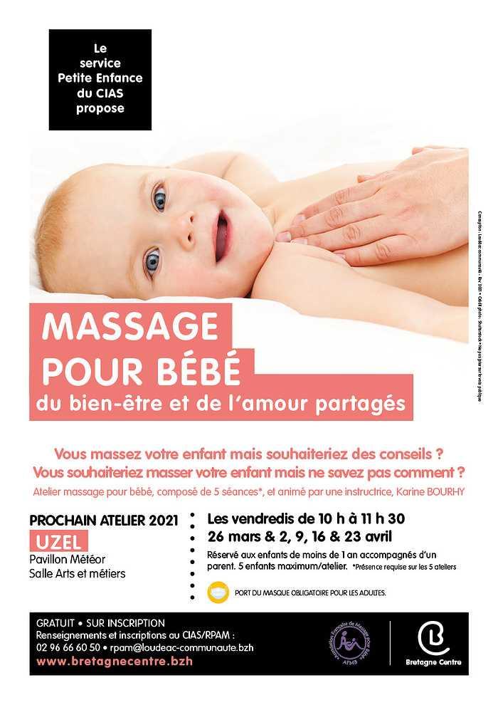 """Atelier """"Massage pour bébé"""" 0"""